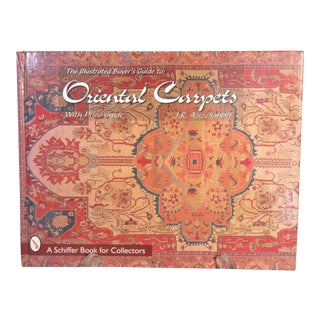 The Illustrated Buyer's Guide to Oriental Carpets Hard Cover Book by Azizollahoff 1st Edition For Sale