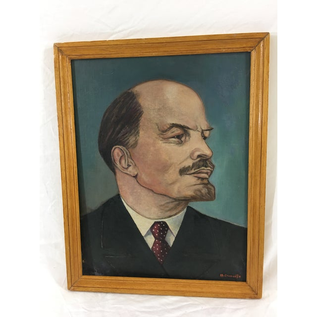 French Portrait of Lenin For Sale - Image 6 of 6