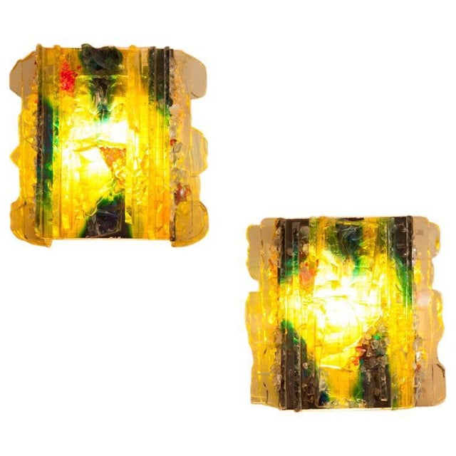 """Pair of RAAK Glass """"Chartres"""" Sconces - Image 3 of 3"""