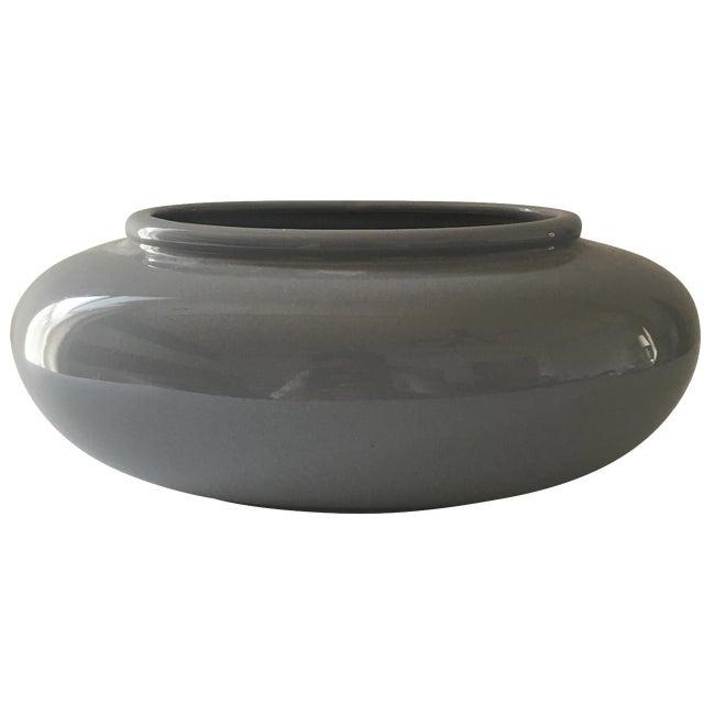 Gray Ceramic Vessel - Image 1 of 6