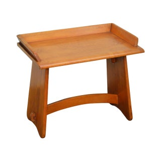 Virginia House Solid Maple Wagon Seat Bench For Sale