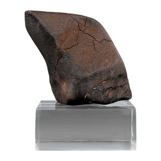 Oriented Nose Cone Chondrite Meteorite For Sale