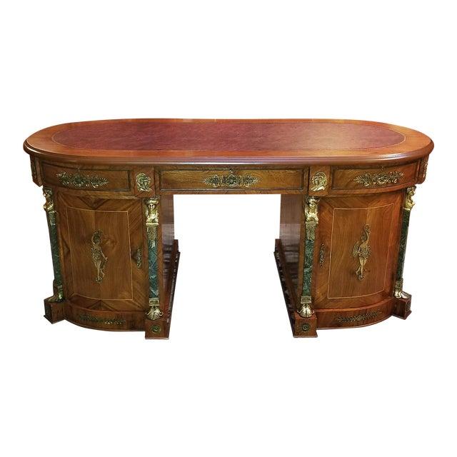Egyptian Classical Revival Desk For Sale