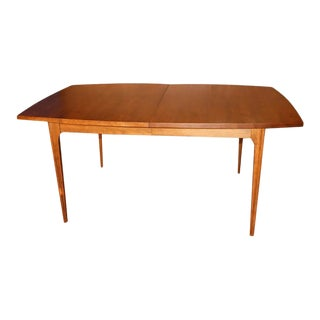 Mid-Century Modern Brasilia Dining Table With Leaf For Sale