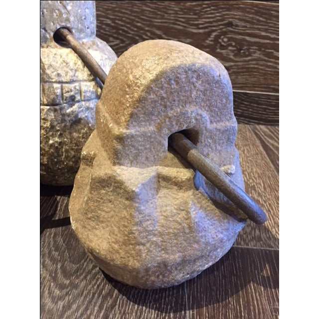 Early 20th Century Stone Weights - Sold Individually For Sale - Image 5 of 5