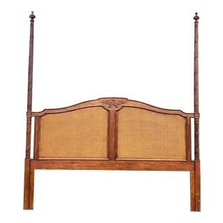 Vintage Drexel Heritage King Headboard For Sale