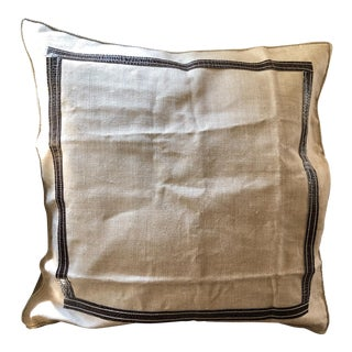 Ankasa Linen 'Crosby' Pillow Cover For Sale