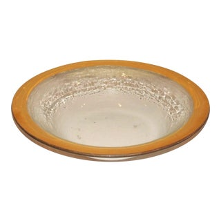 Vintage Annieglass Roman Antique Bowl