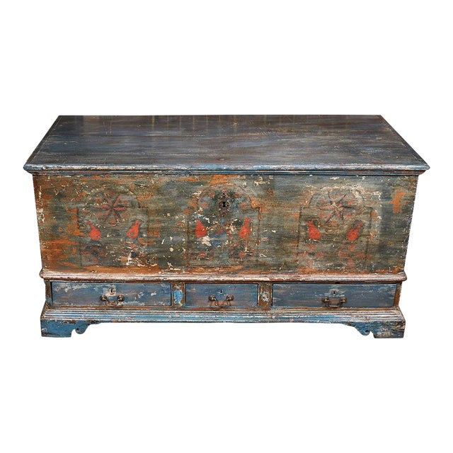 Pennsylvania Blanket Box/ Dowry Chest For Sale