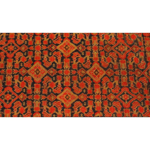 "Antique Persian Malayer Runner Rug - 3'3"" x 15'4"" - Image 2 of 4"