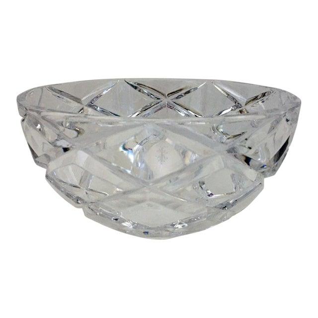 Tiffany Diamond Cut Bowl For Sale