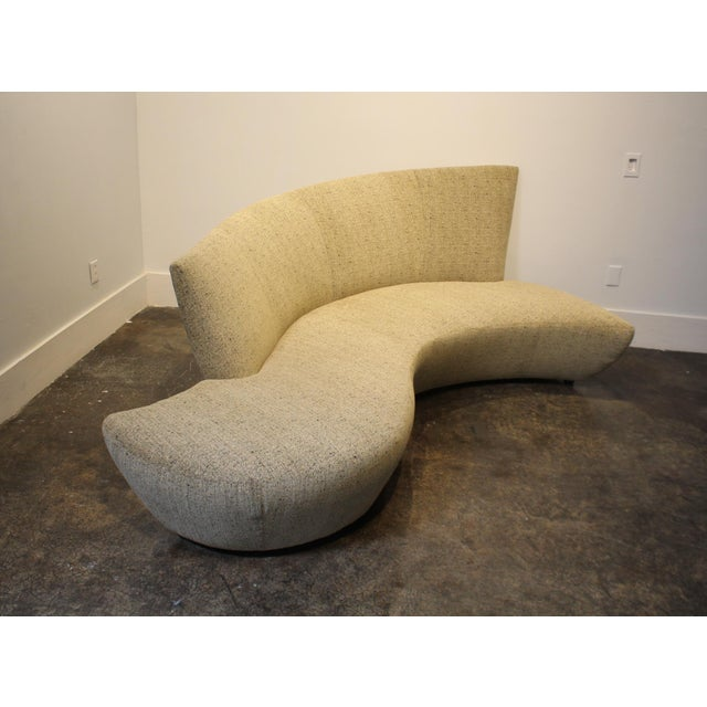 Large Sculptural Bilbao Sofa by Vladimir Kagan For Sale In Dallas - Image 6 of 12