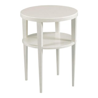 Modern Carrara Finish Provence Drink Table For Sale