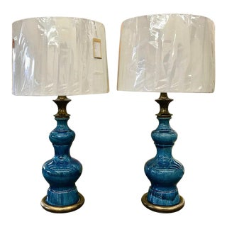 Vintage Stiffel Lamps >> Gently Used Stiffel Furniture Up To 70 Off At Chairish