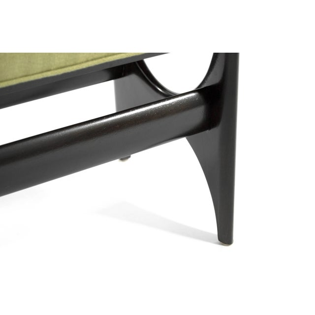 DC Sculptural Walnut Bench For Sale In New York - Image 6 of 8