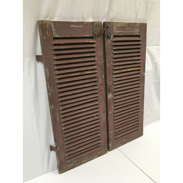 Great architectural find to highlight any decor. Wear consistent with age and outdoor use but built to last another...