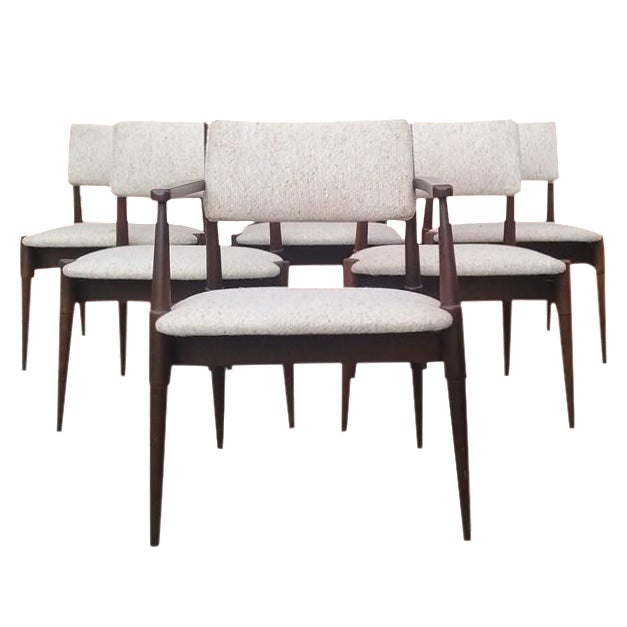 Mid-Century Dining Chairs by Young - Set of 6 - Image 1 of 6