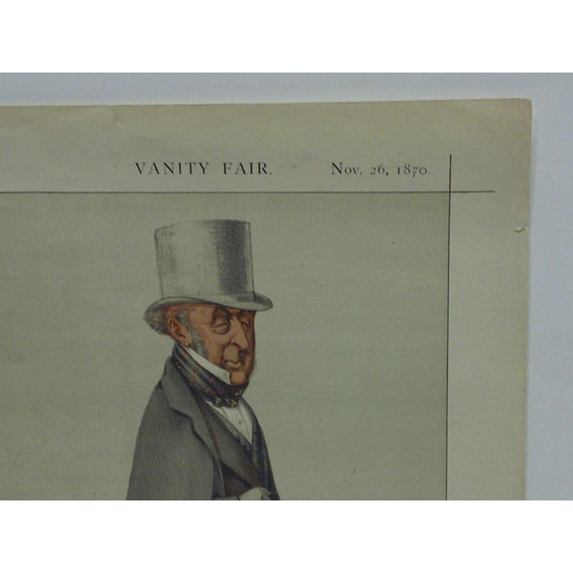 "American Vintage ""A Faithful Friend"" Vanity Fair Print For Sale - Image 3 of 4"