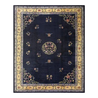 Antique Art Deco Chinese Rug For Sale
