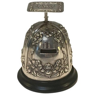 Gorham Sterling Table Top Postal Scale, 1906 For Sale