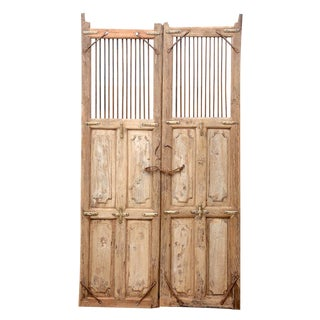19th Century Spanish Colonial Doors For Sale