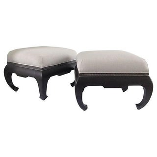 Century Furniture Greek Key Ming Benches - a Pair For Sale