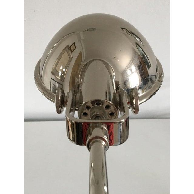 Ralph Lauren Polished Nickel Floor Lamps - A Pair - Image 3 of 10