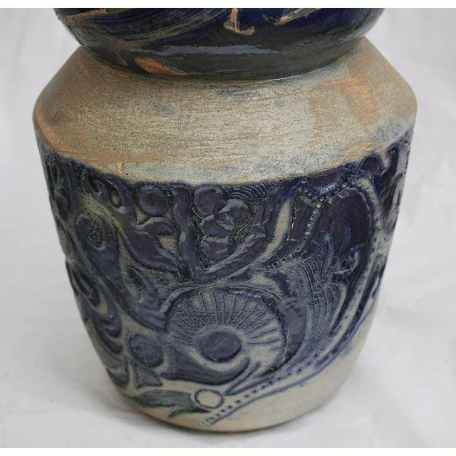 Vintage Large Art Vase, - Image 5 of 7