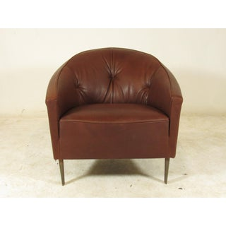 1990s Vintage Italian Club Chairs- A Pair Preview