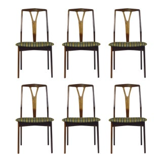 Set of 6 Danish Rosewood Dining Chairs For Sale