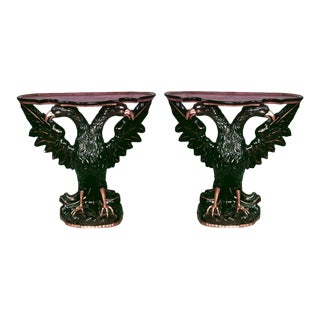 Pair of Continental Austrian/Hungarian '19th Century' Console Tables For Sale