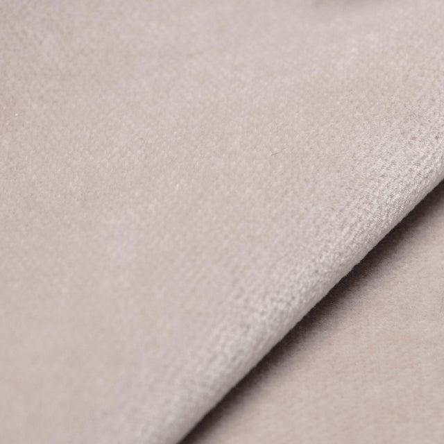 Cloth & Company Square Ottoman in Titan Mineral For Sale - Image 4 of 5