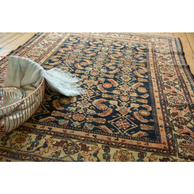 "Vintage Malayer Square Rug - 5' x 6'2"" - Image 3 of 9"