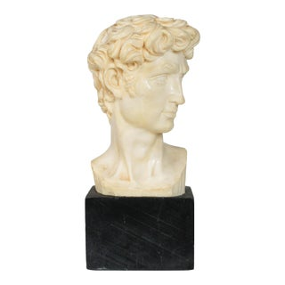 Michelangelo Head of David A. Santini Italy For Sale
