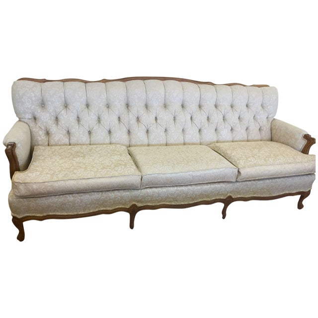 Broyhill Chesterfield French Provincial Sofa - Image 1 of 3