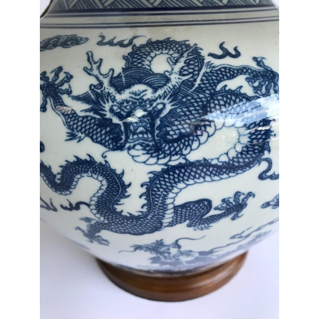 Ralph Lauren Nwt Blue And White Dragon, Ralph Lauren Blue And White Dragon Lamp