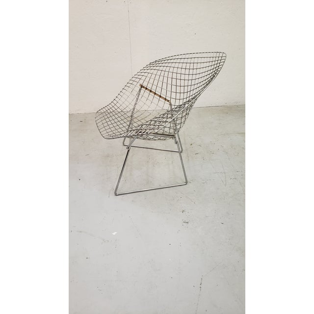 1970s 1970s Vintage Bertoia Diamond Chair For Sale - Image 5 of 7