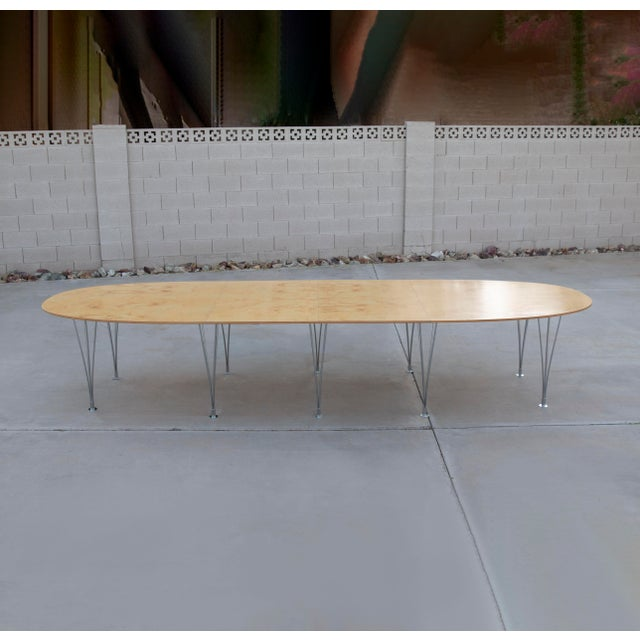 Danish Modern Bruno Mathsson Conference or Dining Table For Sale - Image 12 of 12