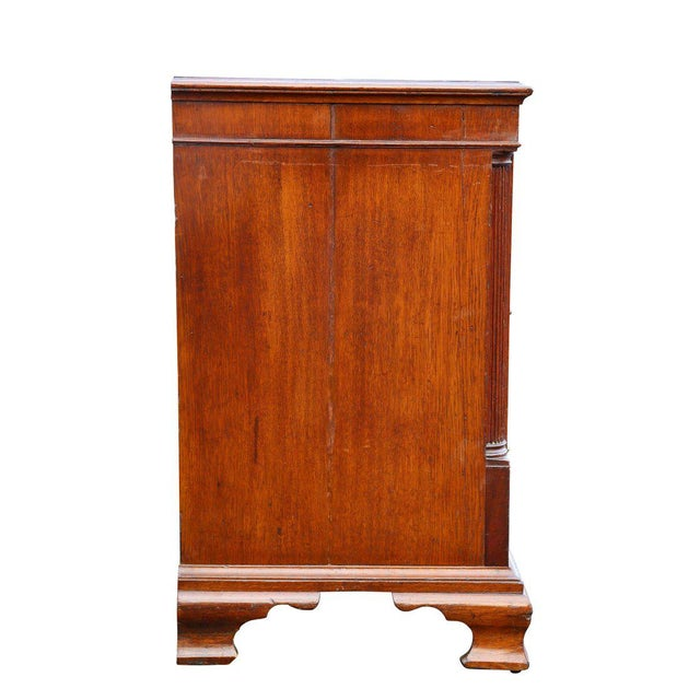 Brown George III Oak and Mahogany Dresser or Sideboard For Sale - Image 8 of 10