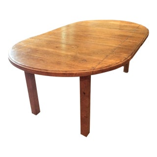 Distressed Wood Farm Dining Table