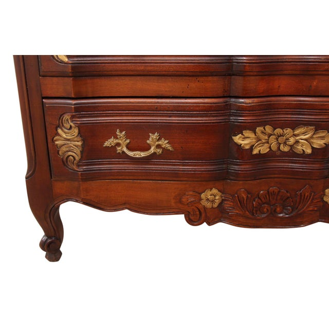 Mission Avenue Studio 1980s French Carved Provincial Dresser For Sale - Image 4 of 8