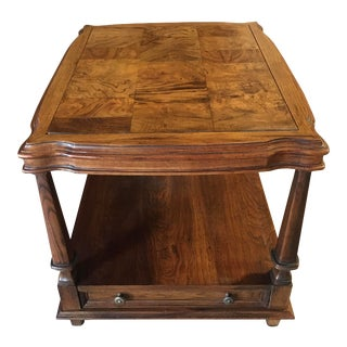 1979 Ethan Allen Side Table For Sale