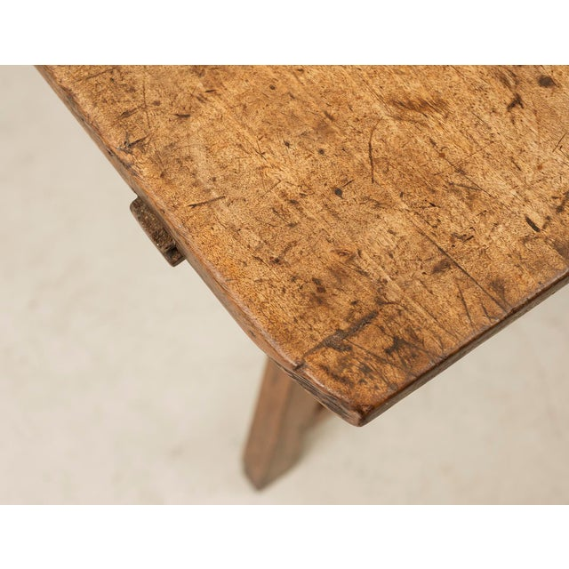 Mid 18th Century 18th Century Spanish Travel Table in Walnut For Sale - Image 5 of 10