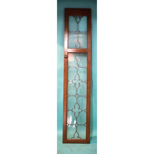 An antique architectural salvage stained glass door. perfect for  re-purposing and some love - Antique Architectural Stained Glass Door Chairish