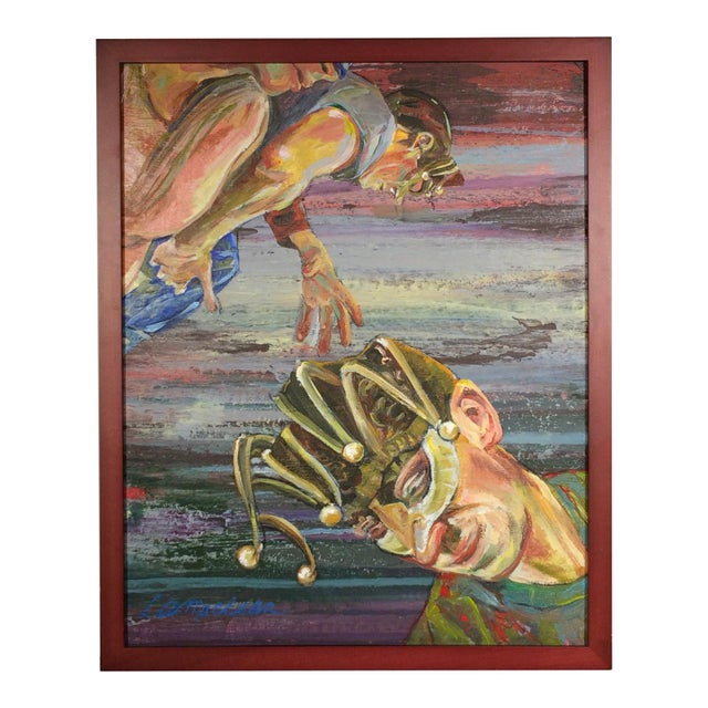 2010s Enmeshed Original Painting For Sale - Image 5 of 5
