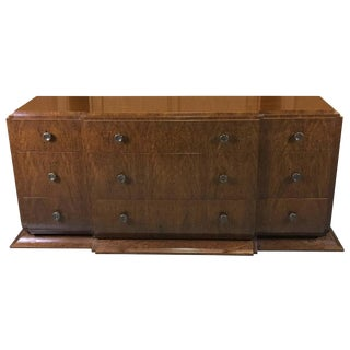 Burl Wood Console from the Andre Arbus Collection by William Switzer For Sale