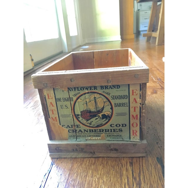 1920s Cape Cod Cranberry Crate For Sale In New York - Image 6 of 6