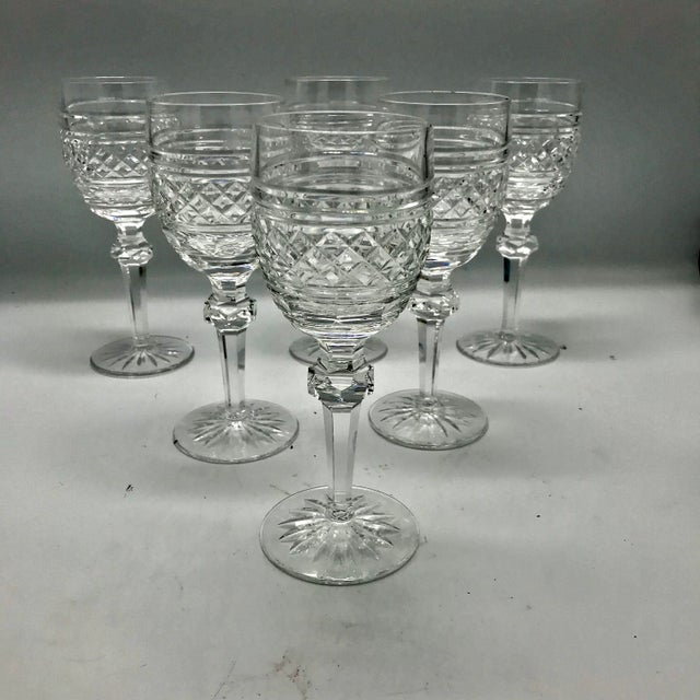 Waterford Crystal Waterford in Rare Archive Castletown Pattern Crystal Glasses - 18 Pieces For Sale - Image 4 of 11