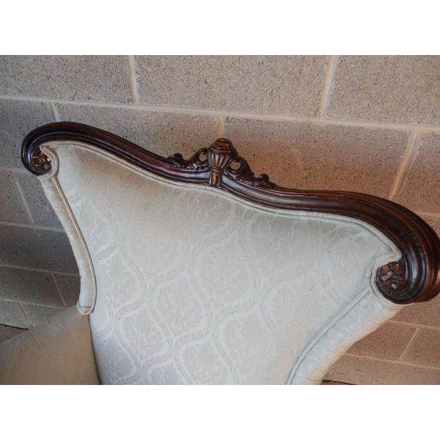 Regency Style Mahogany Frame Bergeres - A Pair - Image 4 of 11