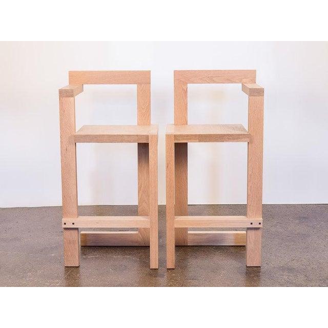 Modern Steltman Barstools For Sale - Image 3 of 10